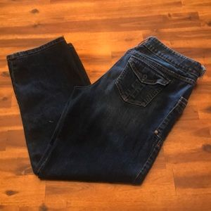 Simply Vera Cropped Jeans